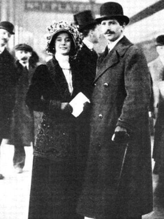 Анна Павлова и Виктор Дандре. / Фото: www.24smi.org